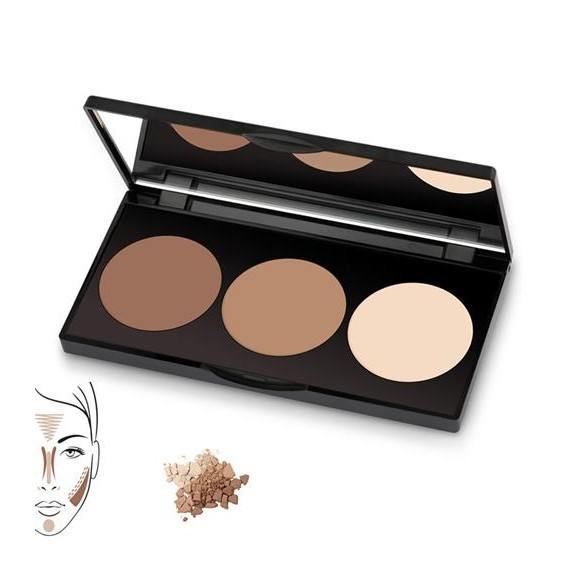 KIT POLVOS DE CONTORNO CONTOUR POWDER GOLDEN ROSE