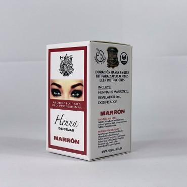 HS HENNA DE CEJAS MARRON 2 GR.