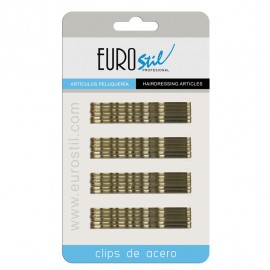 CLIPS ONDINA BRONCE 70mm 24unid REF:1611