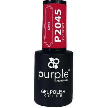 GEL POLISH PURPLE P2045