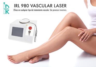 Descubre el Nuevo IRL 980 Vascular Láser
