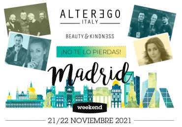 Alter Ego Italy Evento| Madrid Weekend | 21 y 22 de Noviembre 2021