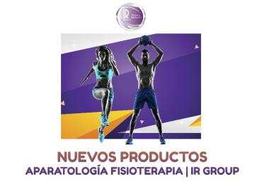 Nuevo catálogo con productos de Aparatología de Fisioterapia